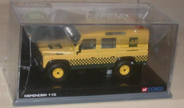 Picture Gallery for Corgi CC07703 Land Rover 110