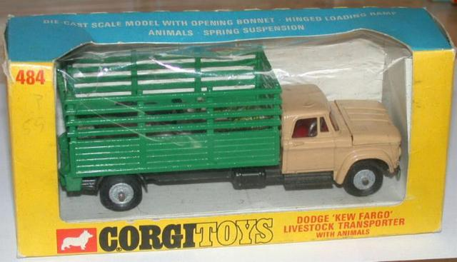 Picture Gallery for Corgi 484 Dodge Livestock Truck