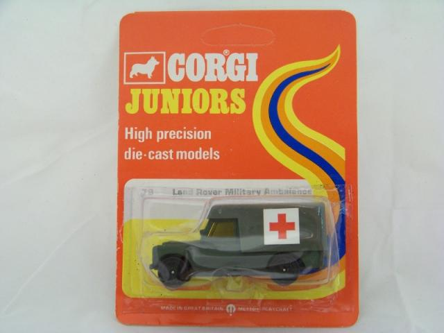 Picture Gallery for Corgi Juniors 79 Military Ambulance