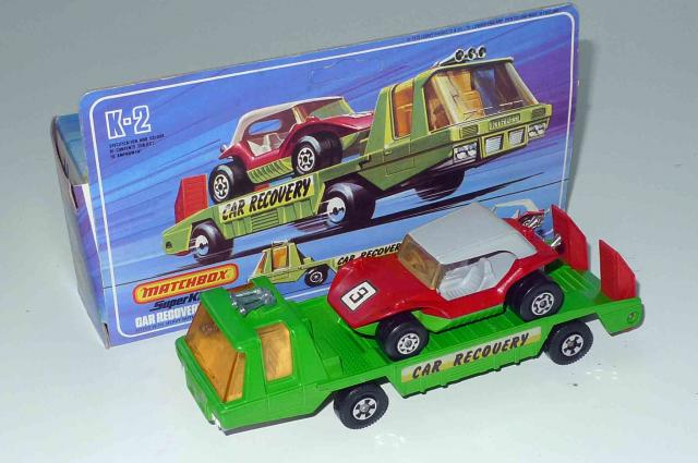 Picture Gallery for Matchbox K-2 CAR RECOVERY
