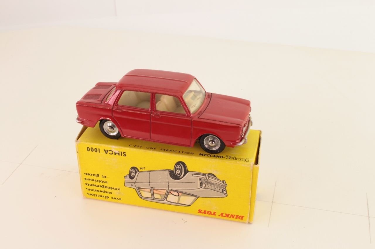 Dinky #519 - Simca 1000 - Red/Cream