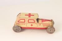 CR #5946RG - Ambulance - White/Red