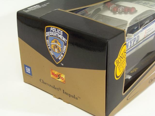 Picture Gallery for Maisto 36645 Police Chevrolet Impala