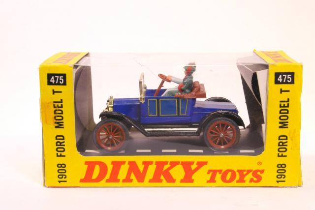 Dinky #475 - Ford Model T 1908 - Blue/Black