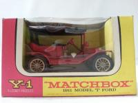 Picture Gallery for Matchbox Yesteryear Y1 1911 Model T Ford