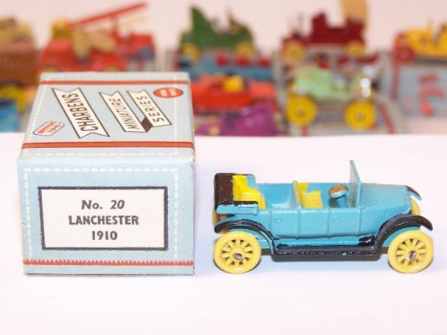 Picture Gallery for Charbens 20 Lanchester 1910