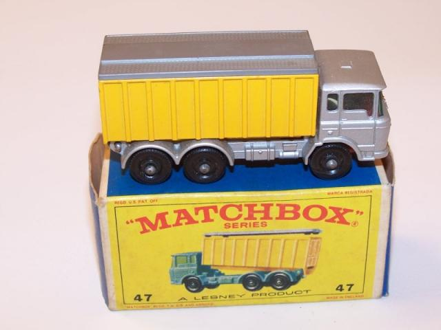 Picture Gallery for Matchbox 47c DAF Container Truck