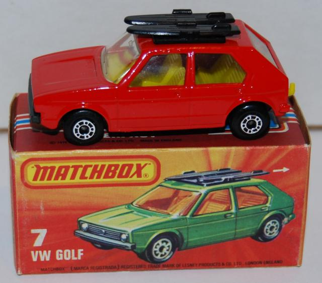Picture Gallery for Matchbox 7e VW Golf