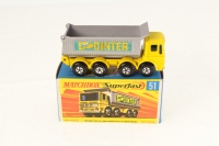 Picture Gallery for Matchbox 51c AEC Mammoth Tipper