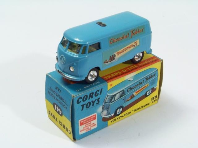 Picture Gallery for Corgi 441 Volkswagen Van