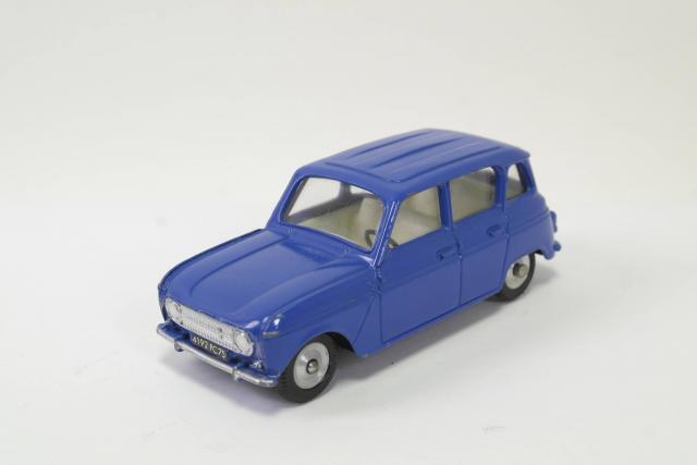 1:18 Solido Renault 4L Jogging 1981 creme//blue