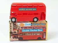 Salco #454 - Double Decker Bus  - Red - no windows