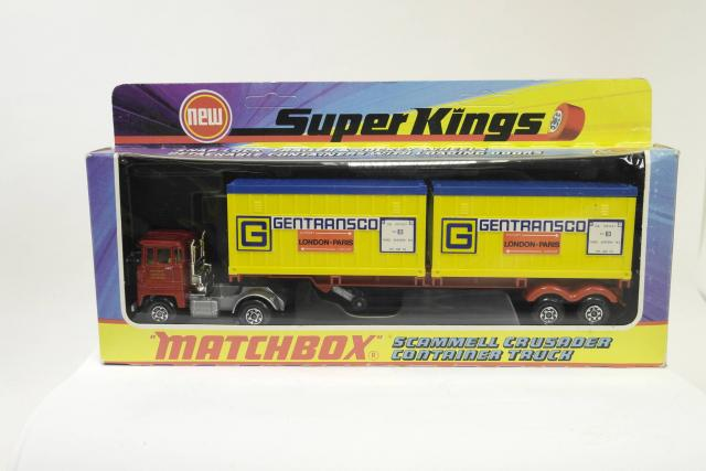 Picture Gallery for Matchbox K17 Scammell Crusader Container Truck