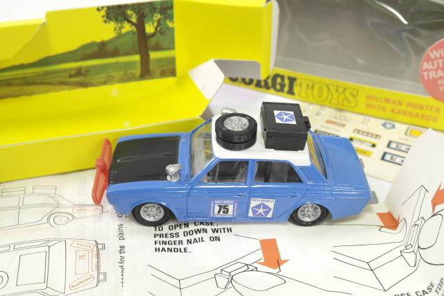 Picture Gallery for Corgi 302 Hillman Hunter Rally Car