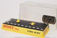 Dinky #132 - Ford 40 RV - Silver