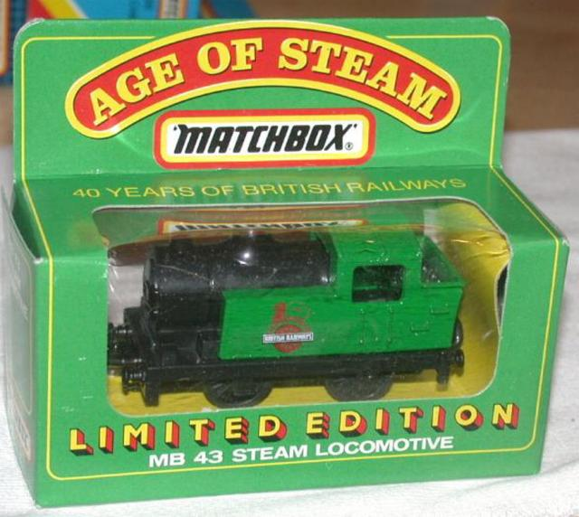 Picture Gallery for Matchbox 43e Steam Locomotive