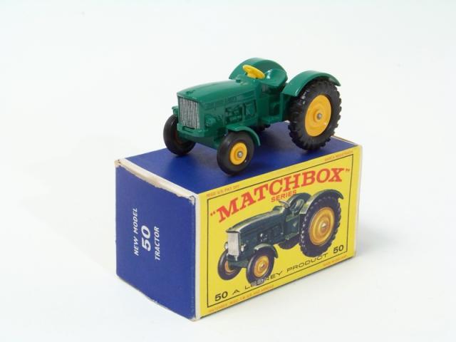 John Deere Matchbox Tractor : Matchbox b john deere lanz tractor green buy it now