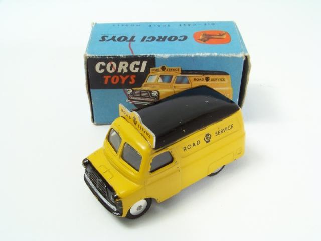 Repro Box Corgi Nr.408 Bedford Road Service Van