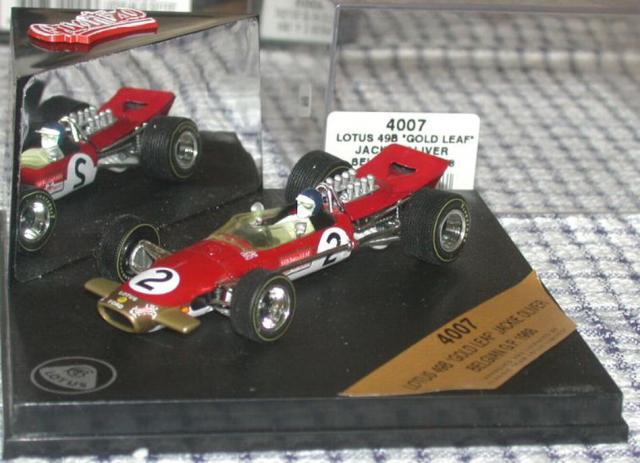 QUARTZO 27805 LOTUS 49B N°2 GRAND PRIX F1 Belgique 1968 Oliver 1//43
