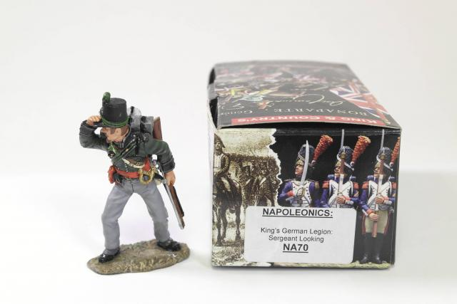 Picture Gallery for King  Country NA70 Kings German Sergeant Looking