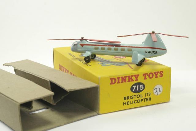 Picture Gallery for Dinky 715 Bristol 173 Helicopter