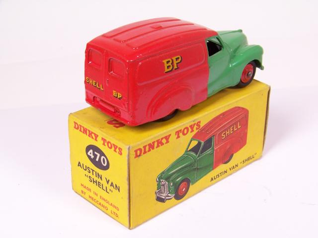 Picture Gallery for Dinky 470 Austin Van