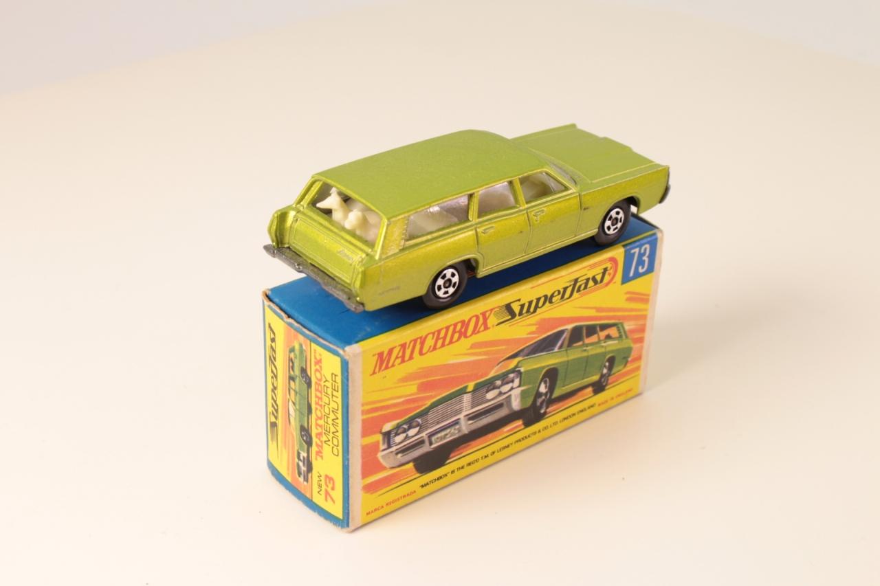 Matchbox #73c - Mercury Commuter - Metallic Green