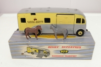Dinky #979 - Racehorse Transporter - Grey/Yellow