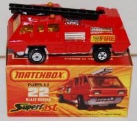 Picture Gallery for Matchbox 22e Blaze Buster
