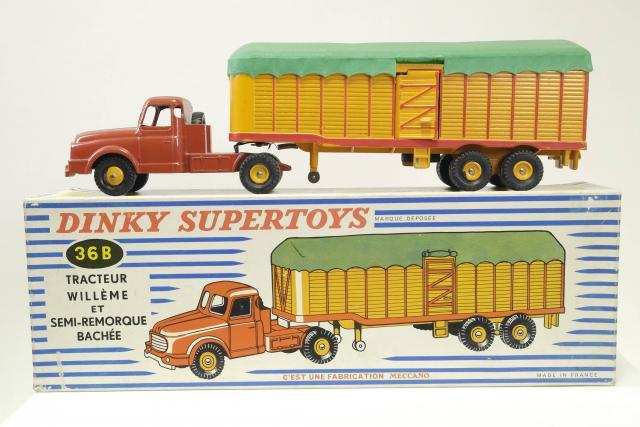 1//43 Diecast CAR MODEL Dinky toys SUPERTOYS 36B 36 B TRACTEUR WILLEME ATLAS