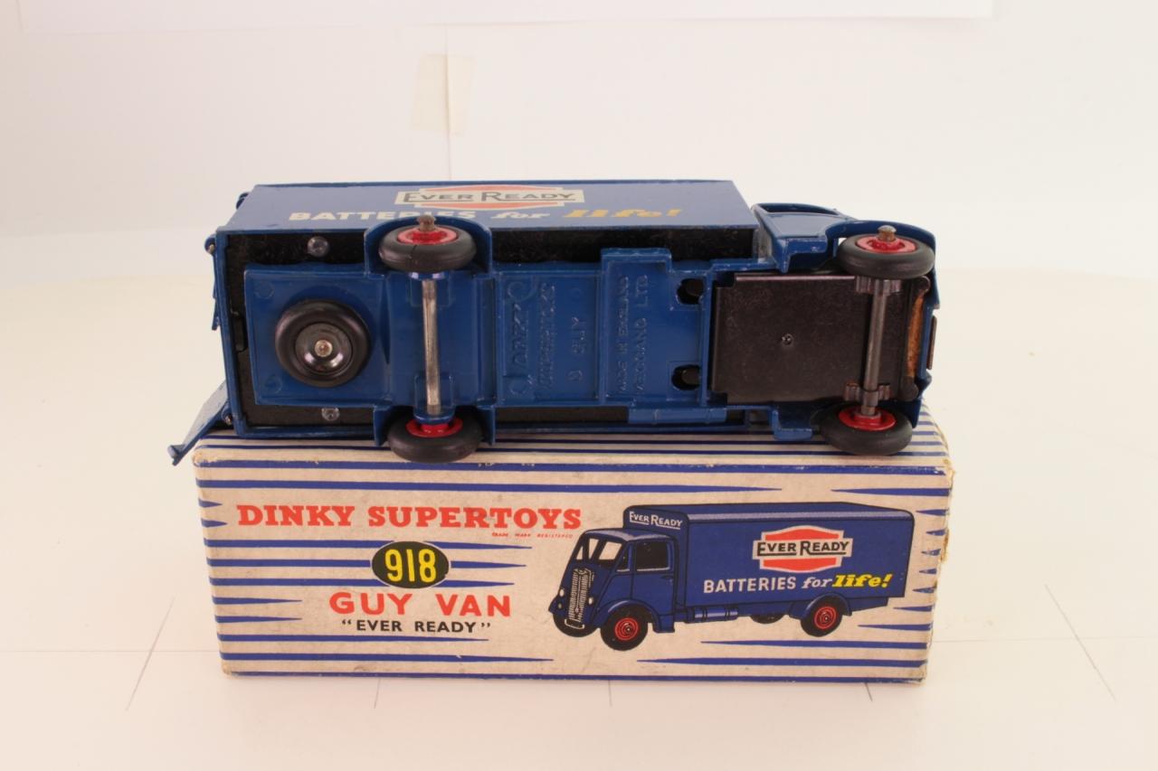 Dinky #918 - Guy Van (Ever Ready) - Blue