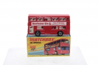 Matchbox #17f - Londoner Bus (Beefeater Gin) - Red