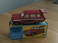 Corgi #491 - Cortina Estate - Red