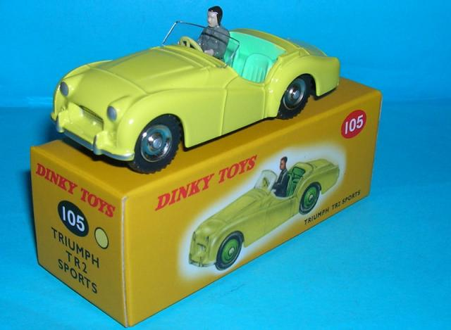 Picture Gallery for Norev 105 Triumph TR2 Sports
