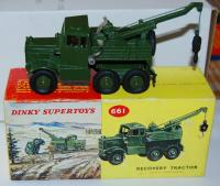 Picture Gallery for Dinky 661 Recovery Tractor