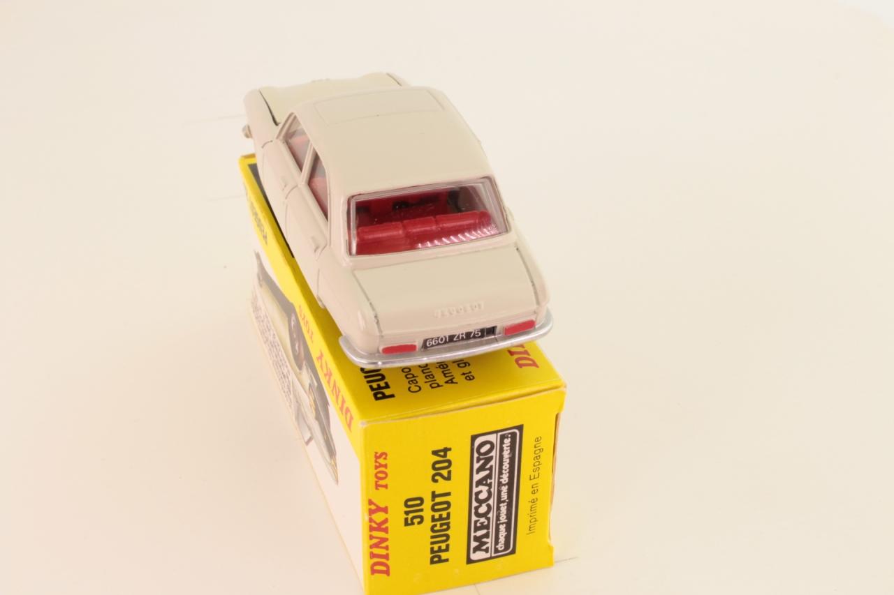 Dinky #510 - Peugeot 204 - Cream