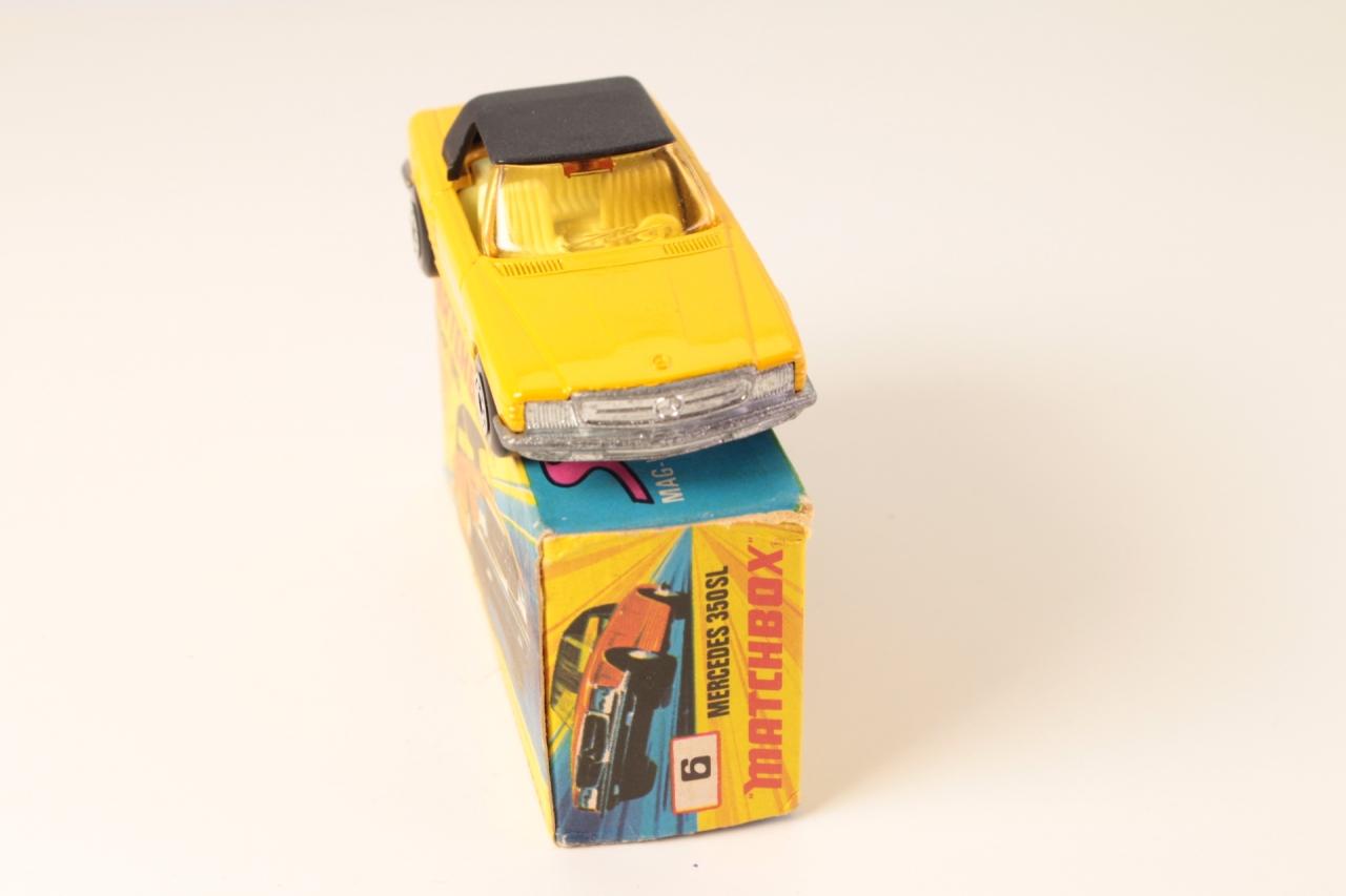 Matchbox #6e - Mercedes 350L - Dark Yellow