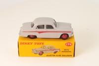 Dinky #176 - Austin A105 - Grey (Red Flash)
