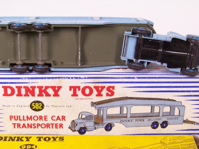 Picture Gallery for Dinky 582 Pullmore Car Transporter