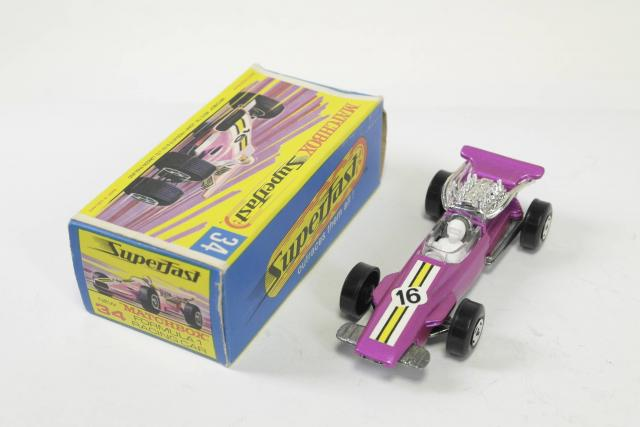 Picture Gallery for Matchbox 34d F1 Racing Car