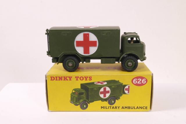 Picture Gallery for Dinky 626 Military Ambulance