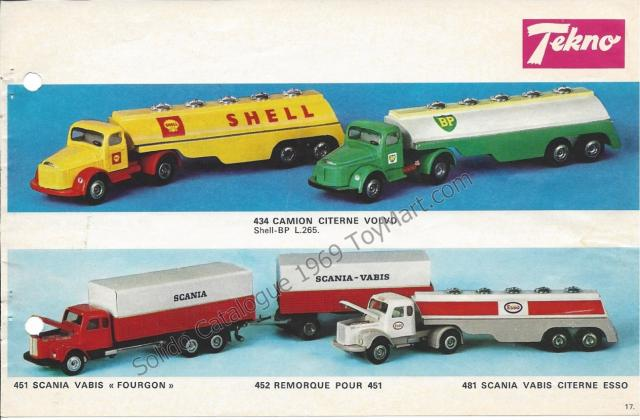 Picture Gallery for Tekno 434 Camion Tanker