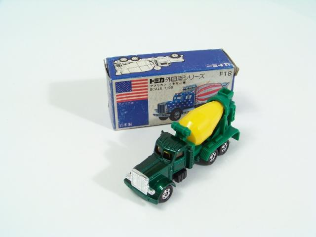 Picture Gallery for Tomica F18 American Mixer