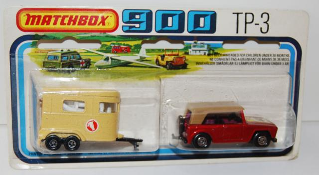 Picture Gallery for Matchbox TP-3 Field Car & Trailer
