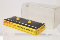 Dinky #187 - De Tomaso Mangusta 5000 - Red/White (Early Box)
