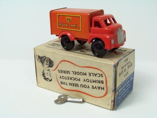 Picture Gallery for Brimtoy 9/538 Royal Mail Van