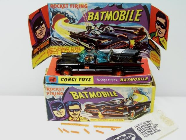 Picture Gallery for Corgi 267 Batmobile