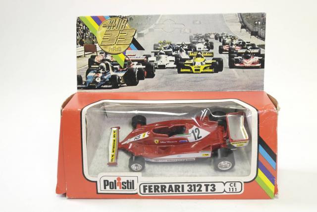 Polistil CE111, Ferrari 312 T3 - Free Price Guide & Review