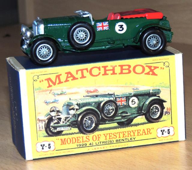 Picture Gallery for Matchbox Yesteryear Y5 Bentley