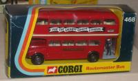 Picture Gallery for Corgi 468 London Transport Routemaster Bus